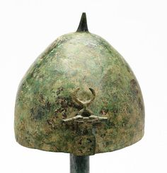 Luristan helmet, Persia, c 9th-7th Century BCE. In the 3rd and 4th millennium BCE migrant tribes settled down in the Zagros Mountains of Iran. Kassites, an ancient people who spoke neither an Indo-European nor a Semitic language, originated in Luristan. Luristan was invaded by Iranian Medes in the 2nd millennium BCE. Medes absorbed the indigenous inhabitants of the region, primarily Elamites and Kassites, by the time the area was conquered by Persians in the 1st millennium BCE. Luristan was…