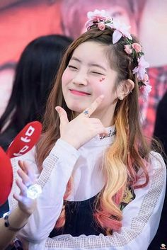 Dahyun is adorable and funny