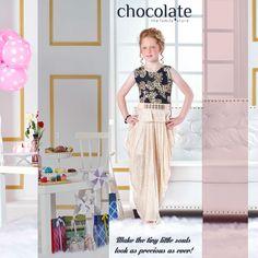 Make the tiny little souls look as precious as ever with #Chocolate #Family!  www.chocolatefamily.com #kidsfashion