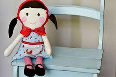 Handmade Custom Little Red Ridding Hood Doll