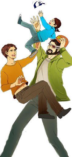 Twdg. Luke, Kenny and Clem