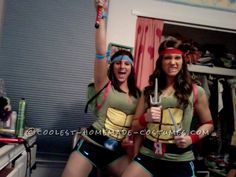 Best Homemade Ninja Turtle Costumes... This website is the Pinterest of costumes