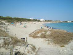 Formentera - Sa Roqueta beach