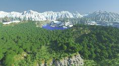 Legend Of Korra - 12k x 12k Custom Terrain #Minecraft Project