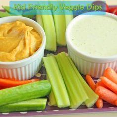 Kid-Friendly Veggie Dips