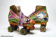 Richie Richs personal rollerskates