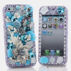Style 750 This Bling case can be handcrafted for iPhone 4/4S, 5, 5S, and 5C. Get your friends & loved ones the gift of Bling this season (Please note: Our professional designers will handcraft a case for you in as little as 2 weeks) Click image for direct link