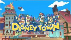 Disney Town has a festival.