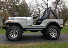 Beautiful, I would trade my Jk in a minute Jeep Wrangler Grill, 1997 Jeep Wrangler, Cj Jeep, Wrangler Rubicon, Jeep Willys, Jeep Pickup, Jeep Truck, Cool Jeeps, Cheap Jeeps
