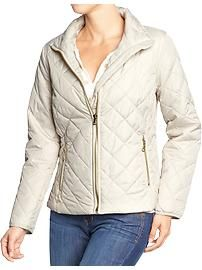 Women's Quilted Barn Jackets from Old Navy in Canvas color Fall Jackets, Jackets For Women, Clothes For Women, Women's Clothes, Barn Quilts, Fashion Photo, Old Navy, Trending Outfits, Stylish