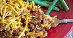 """Say """"Goodbye"""" to plain ol' Mac and Cheese, and """"Hello, delicious!"""" to the tasty flavors of this freezer recipe for Skillet Mac and Cheese with ground beef."""