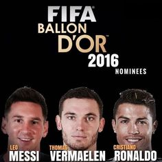 Thomas Vermaelen tuż obok Lionela Messiego i Cristiano Ronaldo • Belg wśród nominowanych do Złotej piłki w 2016 roku • Zobacz >>