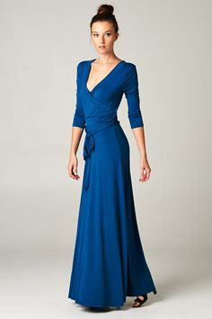 Madison Dress in Graceful Blue