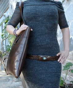 LEATHER HANDMADE BAG / Bag / Leather Bag / Leather by PACOSASTRE