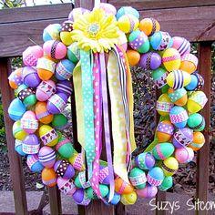 Easter Ribbon Wreath