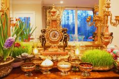 To all my Persian friends and family, Nowruz Mobarak. Happy New Year! :)