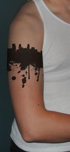 Tattoo by ~SPikEtheSWeDe on deviantART - i love the way it's finished.