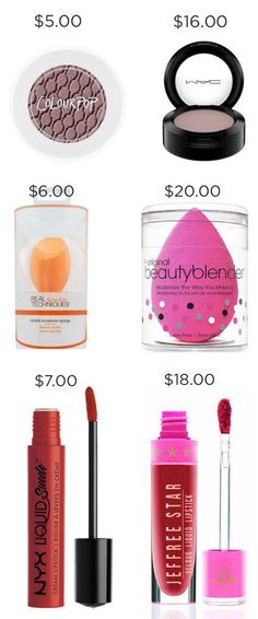 There's a dupe for every expensive product out there. | 17 Charts That Will Help You Make Better Decisions When Buying Makeup