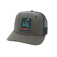 dfe26d76 Moment Trees And Waves Hat - Moss Flannel