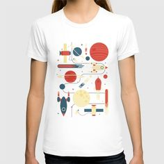 Space Odyssey T-shirt by Tracie Andrews | Society6