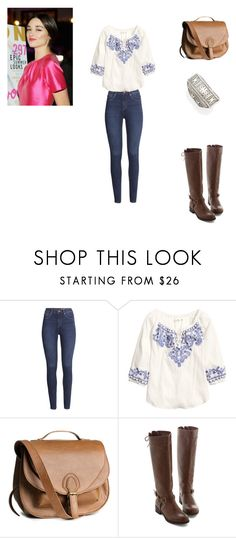 Allison Argent Outfit by zoegeorgiou2001 on Polyvore featuring H&M and Spring Street
