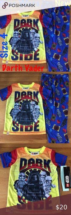 Boys Official Star Wars Darth Vader Face Print Long Pyjamas 4 to 12 Years