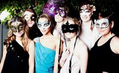 Bachelorette Party Theme Idea :: Masquerade...this is more for me than for my friend. Oop.