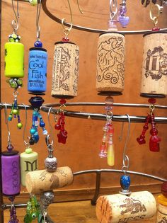 cork ornaments by sarahracha, via Flickr