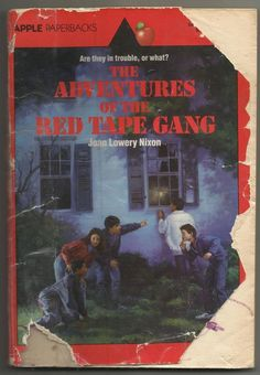 Vintage The Adventures Of The Red Tape Gang Joan Lowery Nixon Paperback Book