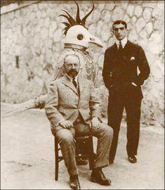 Henri Matisse et Léonide Massine et le Rossignol mécanique à Monte-Carlo  1920    Exposition Ballets russes  Bibliothèque-musée de l'Opéra de Paris