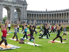 Yoga in Brussels - Support Your Teachers during Closure - Donate now! Donate Now, Brussels Belgium, Your Teacher, Dolores Park, Meditation, Yoga, Children, Summer, Travel