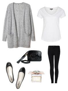 Casual chic by northfashion on Polyvore featuring moda, Zalando, Vivienne Westwood Anglomania, Repetto, Gucci and Chloé