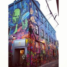 City Mural, Toronto. Photo by blueprinteffects.