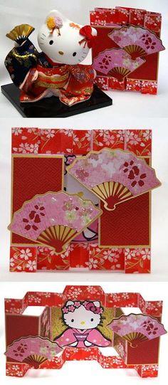 Hello Kitty Hina Matsuri (Doll's Day or Girl's Day) card