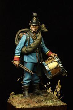 Bavarian Line Infantry - Drummer 14th Rgt. - Wissembourg 1870