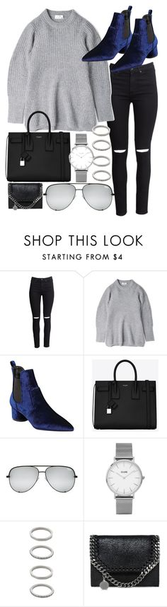 """""""Untitled #20593"""" by florencia95 ❤ liked on Polyvore featuring H&M, Acne Studios, Kendall + Kylie, Yves Saint Laurent, Topshop, Forever 21 and STELLA McCARTNEY"""