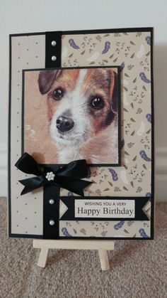 Pollyanna Pickering Best of Breeds Crafty Projects, Projects To Try, Crafts To Do, Paper Crafts, Animal Cards, Wild Hearts, Dog Life, Card Ideas, Birthday Cards
