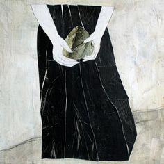 collage de l'artiste peintre Karine Léger