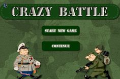 Play #CrazyBattle. Defend your base at all costs General!