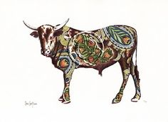 Nguni Art by Jan Coetzee