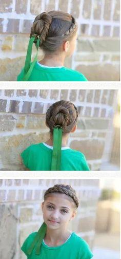 Frozen: Anna coronation hairstyle