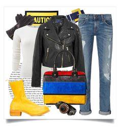"""Boots and Purse"" by capricat ❤ liked on Polyvore featuring Moschino, Black, rag & bone, Allude, Étoile Isabel Marant, Alice + Olivia, Bottega Veneta and Guidi"