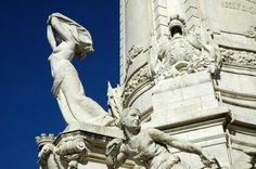 Monument and Statue of the Marquis of Pombal (Lisbon) , Detail