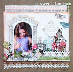 A Sweet Tooth ~Webster`s Pages~ - Scrapbook.com