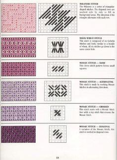 Gallery.ru / Photo # 25 - Stitch Dictionary Plastic Canvas - Orlanda