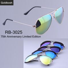 90284a2fc0d rb 3025 Sunglasses 75th Anniversary Limited Edition Polarized sunglasses  Men 2014 Brand Glasses UV400 radiation mens