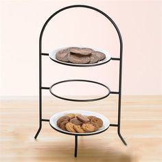 Creative Home 73045 Iron Works Metal 3-Tier Dinner Plate Rack Iron Works Metal 3  sc 1 st  Pinterest & standing plate rack - Google Search | Got my toes in the water ...