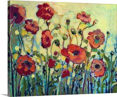 Anitas Poppies - Love the colors reminds me of a summer garden.