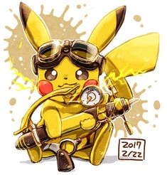 Shock-O-Magic with Pikachu Pokemon Memes, Pokemon Fan Art, Pikachu Pikachu, Deadpool Pikachu, Pikachu Drawing, Rare Pokemon Cards, Cute Pokemon Pictures, Cute Pokemon Wallpaper, Cartoon