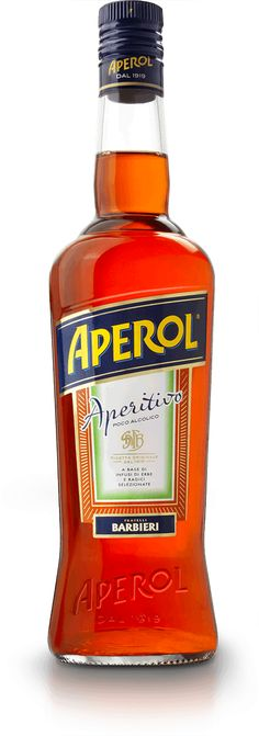 Aperol has an unique taste made of brilliant mix of herbs and roots, its reduced alcohol content makes it a perfect aperitif for any occasion. Fall Drinks, Summer Drinks, After Dinner Drinks, Alcoholic Drinks, Cocktails, Taste Made, Alcohol Content, Whiskey Bottle, Herbs